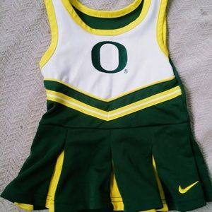 Nike Oregon Ducks Baby/Toddler Cheerleading Dress